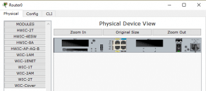 Cara Setting Hostname dan Password Router Pada Cisco Paket Tracer